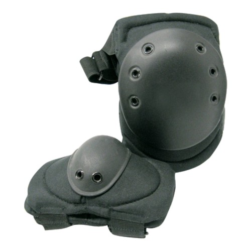 ROYAL KNEE PADS AND ELBOW PADS BLACK (G1 NERO)