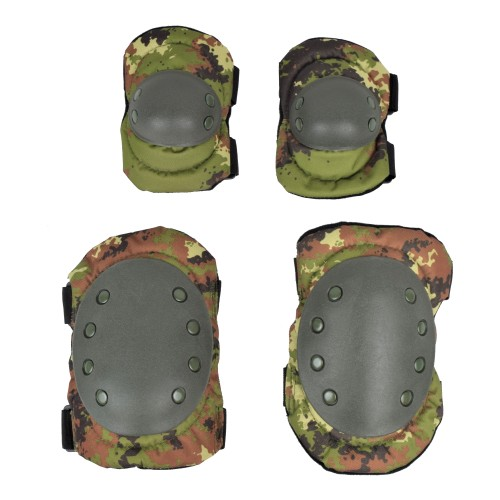ROYAL KNEE PADS AND ELBOW PADS ITALIAN CAMO (G1 TC)