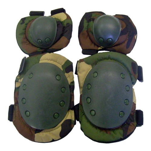 ROYAL KNEE PADS AND ELBOW PADS WOODLAND (G1 WOOD)