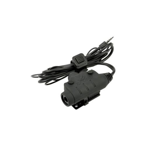 Z-TAC U94 PTT MIDLAND HEADSET CONNECTOR NEW VERSION (EL-Z115)