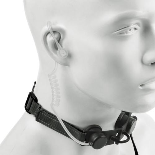 Z-TAC THROAT MIC WITH EARPHONE (EL-Z033)