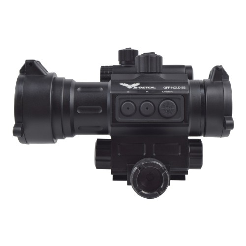 JS-TACTICAL RED DOT SIGHT SCOPE CON LASER INTEGRATO (JS-HD30L)