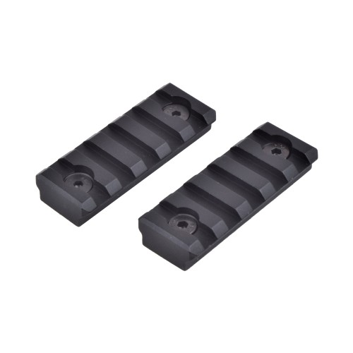 JS-TACTICAL STANDARD 20MM 2X RAIL SET 5 SLOT FOR KEYMOD (JS-R5H)