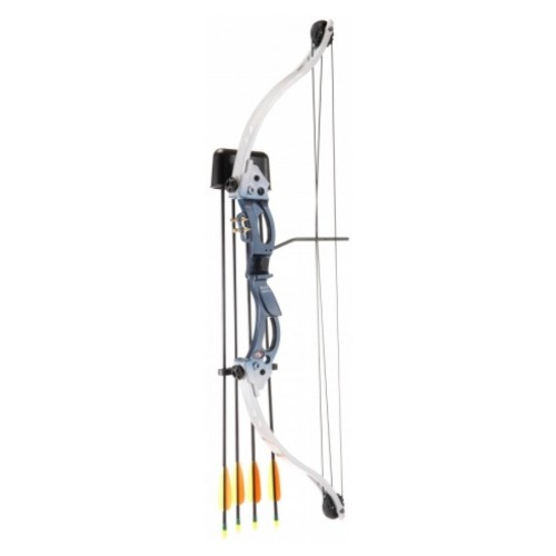 KIDS COMPOUND BOW KIRUPIRA 15-20 LBS SILVER VERSION (CO 013BL)