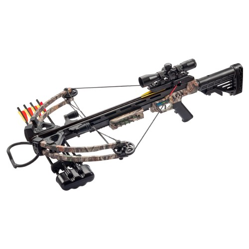 MAN KUNG COMPOUND CROSSBOW 185 LBS FOREST CAMO (MK-XB52GC)
