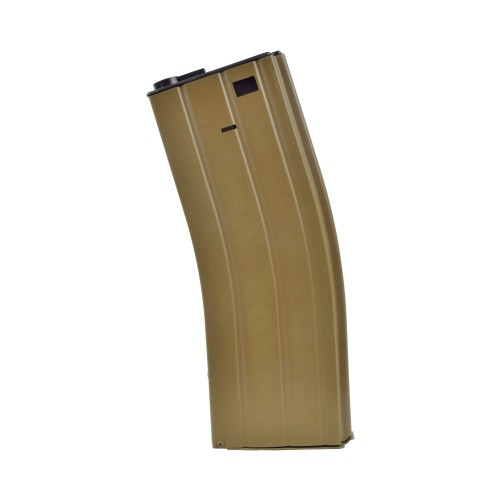 BIG DRAGON HI-CAP MAGAZINE 300 ROUNDS FOR M4 TAN (BD-4228)