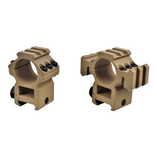BIG DRAGON SCOPE MOUNT 30mm FOR WEAVER RAILS TAN (BD-9168B)