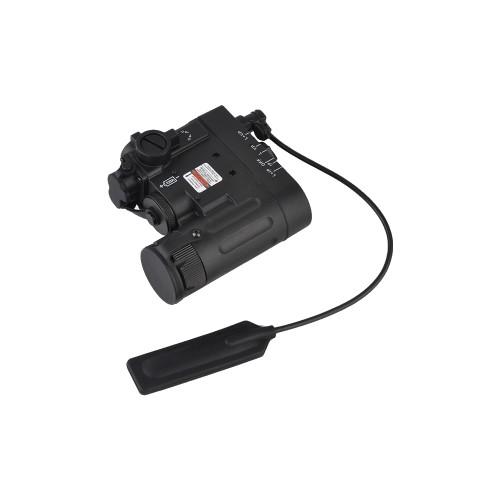 ELEMENT DBAL/EMKII LASER CON TORCIA LED NERO (EL-EX328B)