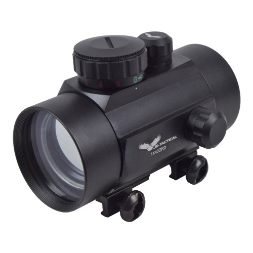 JS-TACTICAL RED DOT TUBE 46MM BLACK (JS-1X46GRD)