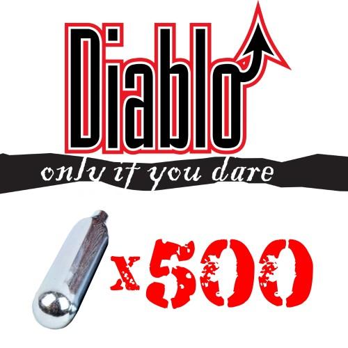 DIABLO CO2 12g CARTRIDGES 500 PIECES SET (C500DIABLO)