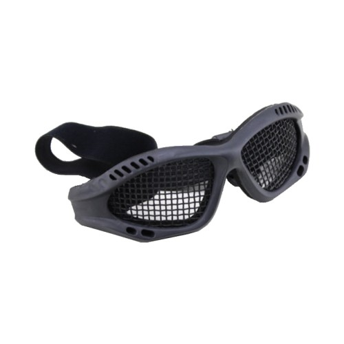 WOSPORT TACTICAL GOGGLES WITH STEEL MESH BLACK (6059B)