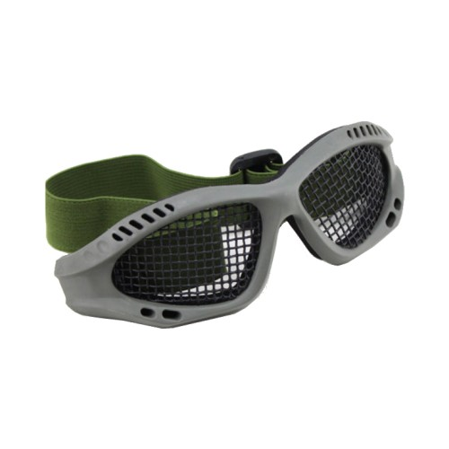 WOSPORT TACTICAL GOGGLES WITH STEEL MESH OLIVE DRAB (6059V)