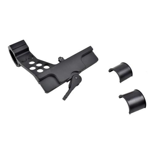 AIM-O SIDE SCOPE MOUNT FOR AK BLACK (AO9026-B)