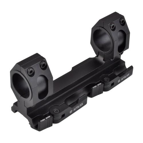 "AIM-O MOUNT FOR 30mm/1"" DIAMETER SCOPES BLACK (AO9012-B)"