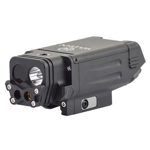 WADSN RED LASER WITH FLASHLIGHT AND INFRARED FOR PISTOLS BLACK (WM114-B)