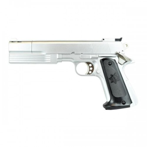 HFC GAS PISTOL SILVER (HG 125S)