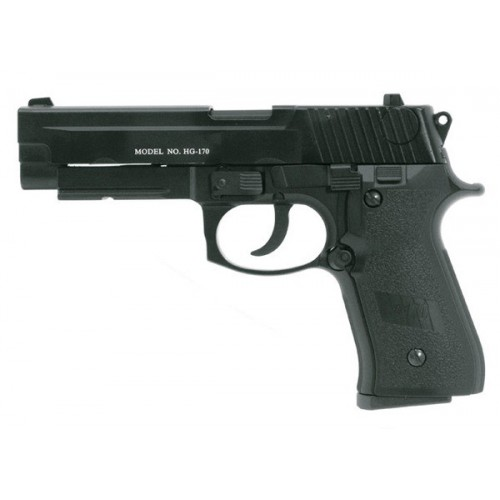 HFC BLOWBACK GAS PISTOL BLACK (HG 170)