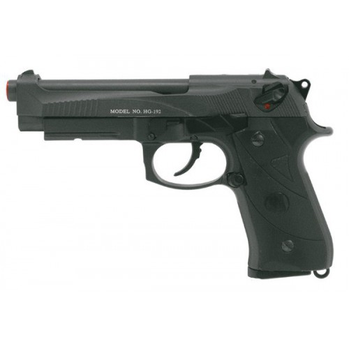 HFC BLOWBACK GAS PISTOL BLACK (HG 192)