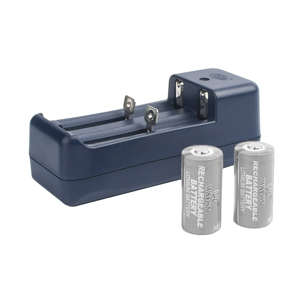 WADSN BATTERY CHARGER FOR 16340 BATTERIES (WDX006)