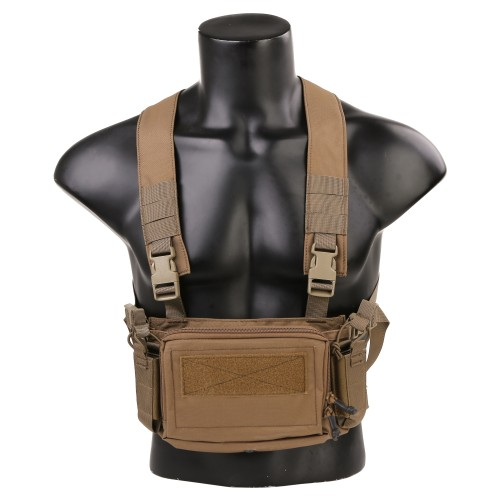 EMERSONGEAR MICRO CHEST RIG COYOTE BROWN (EM9557CB)