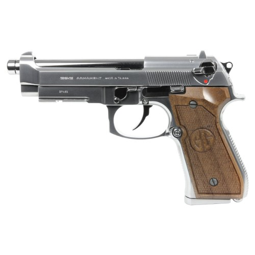 G&G PISTOLA A GAS GPM92 GP2 SILVER LIMITED EDITION (GG-M92-GP2S)