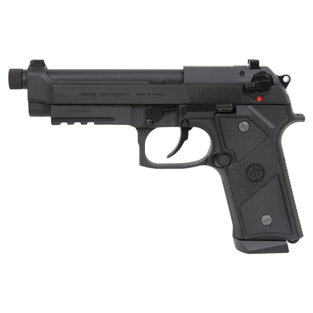G&G GAS PISTOL GPM9 MK3 BLACK (GG-M92-MK3)