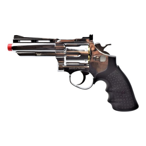 "HFC GAS REVOLVER 4"" SILVER (HG132S)"