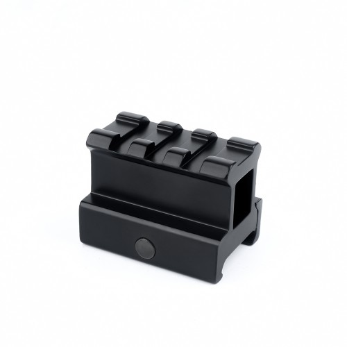 METAL 3 SLOT 20MM RISER RAIL BLACK (ME9007)