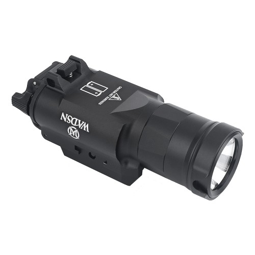 WADSN LED FLASHLIGHT 650 LUMEN BLACK (WD4003-B)