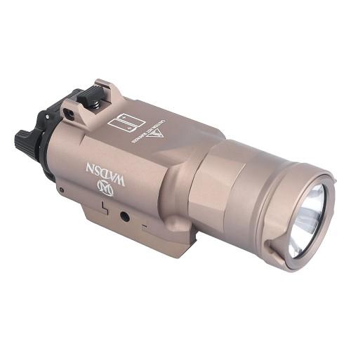 WADSN LED FLASHLIGHT 650 LUMEN DARK EARTH (WD4003-T)