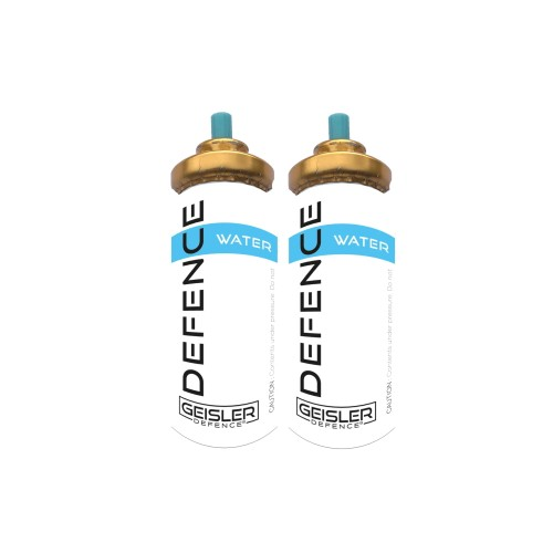 GEISLER DEFENCE TRAINING WATER CARTRIDGE FOR GD-105 2 PIECES (MC8-2)