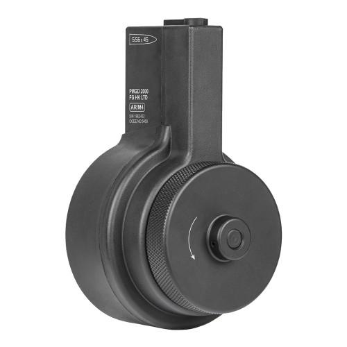 ARES DRUM MAGAZINE 2150 ROUNDS FOR M4 BLACK (AR-MAG043)