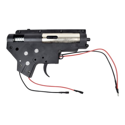 J.G. WORKS METAL GEARBOX FRONT WIRED FOR M4 SERIES (A-X120)
