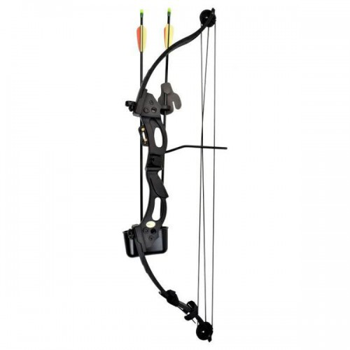 KIDS COMPOUND BOW KIRUPIRA 15-20 LBS BLACK (CO 013B)