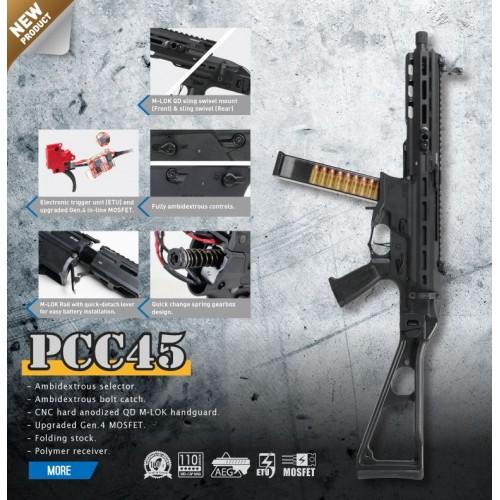 G&G ELECTRIC RIFLE PCC45 (GG-PCC45)