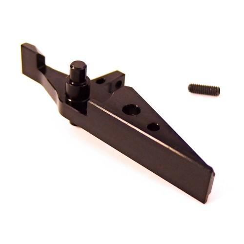 LEVIATHAN FLAT CNC TRIGGER FOR M4 SERIES BLACK (JT-FLAT-BK)