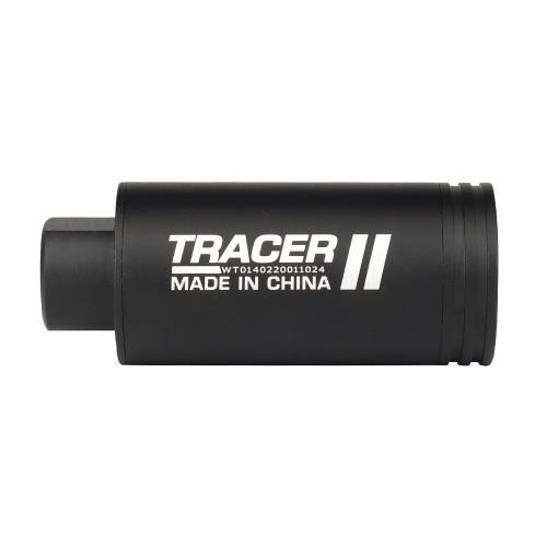 WOSPORT AUTOTRACER UNIT TRACER II 14mm BLACK (WO-EX14B)