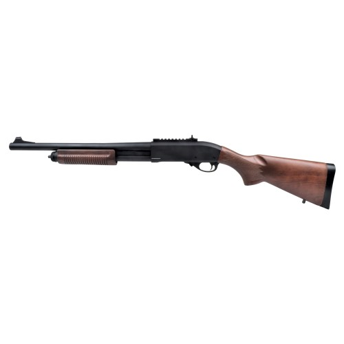 GOLDEN EAGLE PUMP ACTION GAS RIFLE REAL WOOD (GE-M870LW)