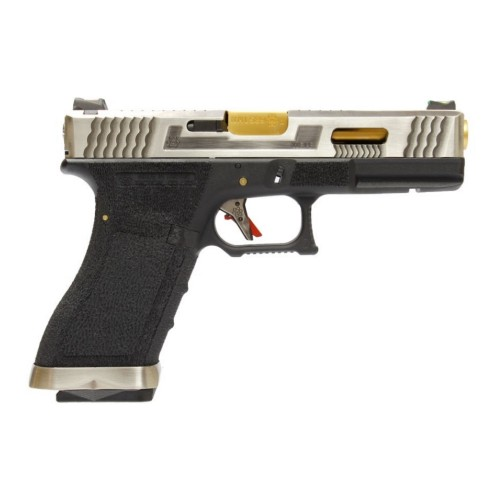 WE PISTOLA A GAS G18 FORCE SERIES T3 (WG02WET-3)