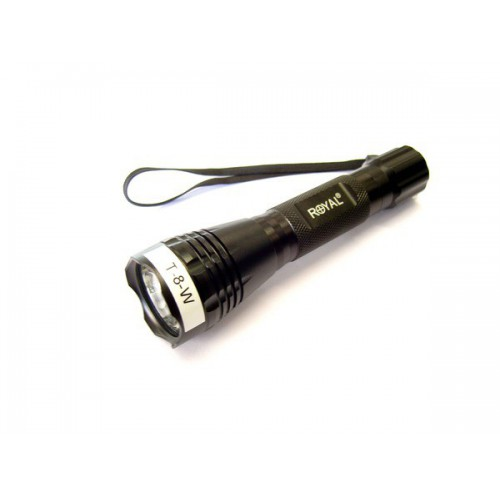 ROYAL LED FLASHLIGHT 180 LUMEN (T8W)