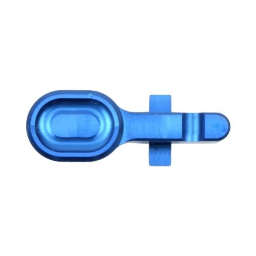 RETROARMS CNC BOLT CATCH AR15 TYPE A LIGHT BLUE (RA-6988)