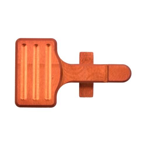 RETROARMS CNC BOLT CATCH AR15 TYPE B ORANGE (RA-6864)