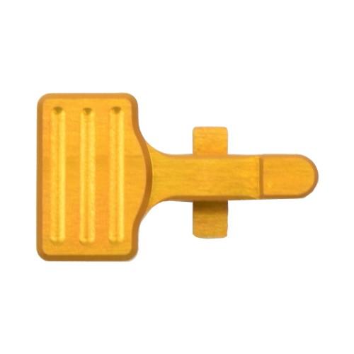 RETROARMS CNC BOLT CATCH AR15 TYPE B GOLD (RA-7028)