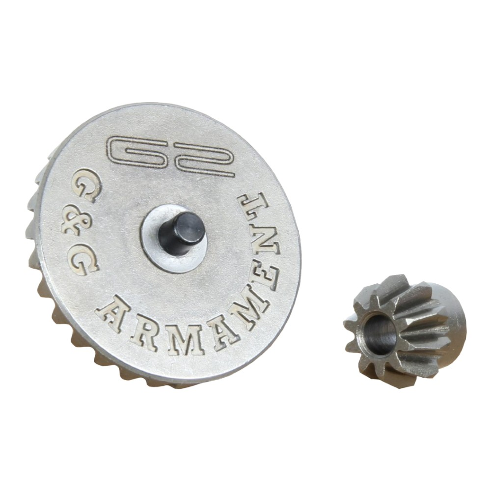 G&G BEVEL GEAR AND MOTOR PINION SET FOR G2 SERIES (G10138-1)