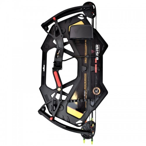 EK ARCHERY YOUTH COMPOUND BOW BUSTER 15-29 LBS BLACK (CO-034B)