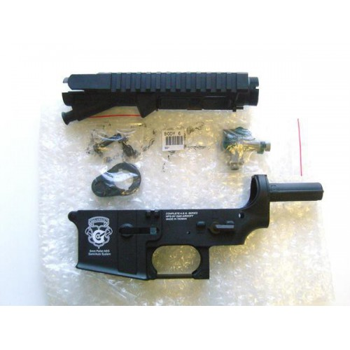G&G POLYMER UPPER AND LOWER RECEIVER FOR M4 SERIES (BODY 6)