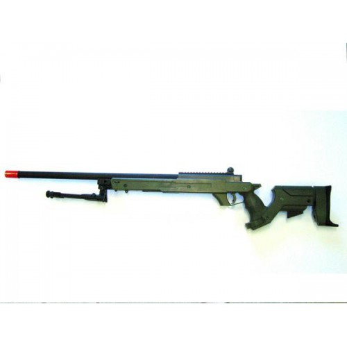 WELL FUCILE SNIPER BOLT ACTION CON BIPIEDE VERDE (MB04BV)