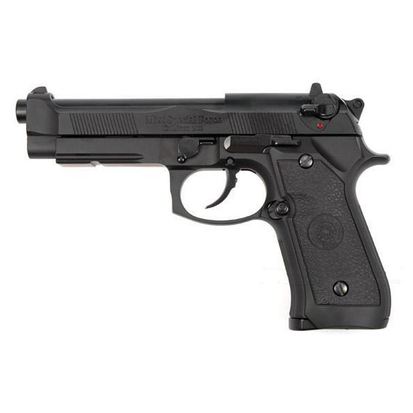 HFC BLOWBACK GAS PISTOL HALF METAL BLACK (HG 190)