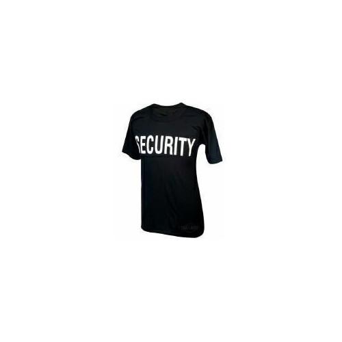 TRU-SPEC T-SHIRT SECURITY BLACK S (AT-4306-003)