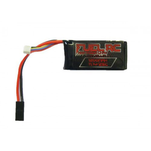 FUEL LI-PO BATTERY 11.1V X 1200MAH 25C (FL-11.1X1200)